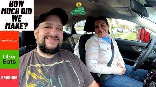Hidden Tips On Stacked Orders   Doordash, Uber Eats, Grubhub Multi-App Ride-Along