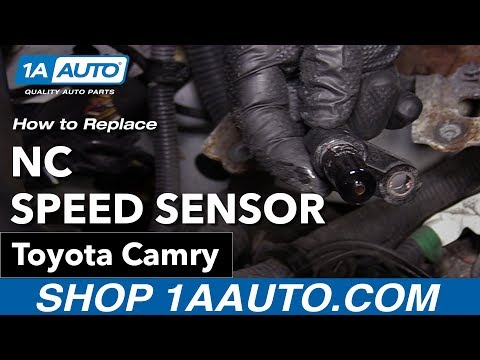 How to Replace Install NC Speed Sensor 09 Toyota Camry