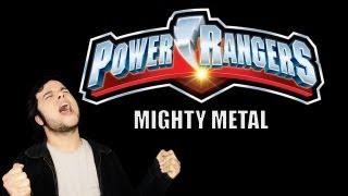 GO GO Power Rangers -  Metal