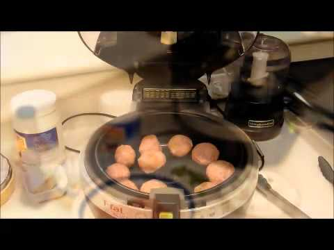 Stuffed Meatballs Actifry T-Fal