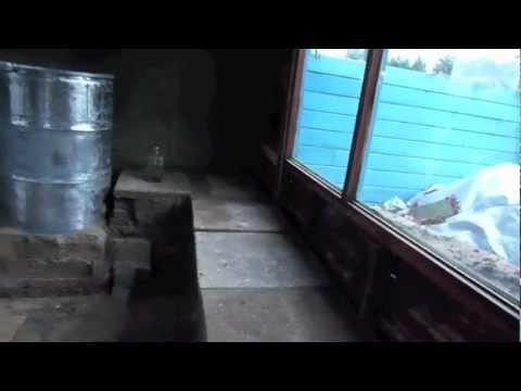 Building a mancave 🏰 Rocket mass heater bench FAIL