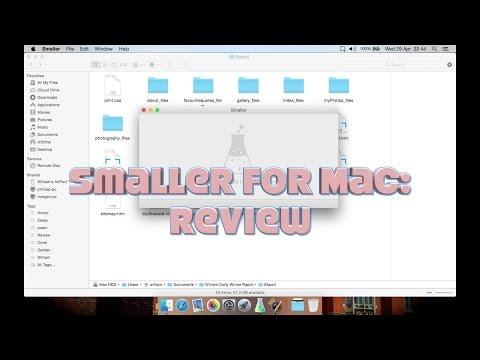 Smaller (Mac HTML, JS & CSS Minifier): Review