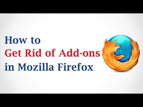 How to Get Rid of Mozilla Firefox Add-Ons