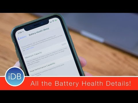 Hands-On: Battery Health Beta & Performance Management