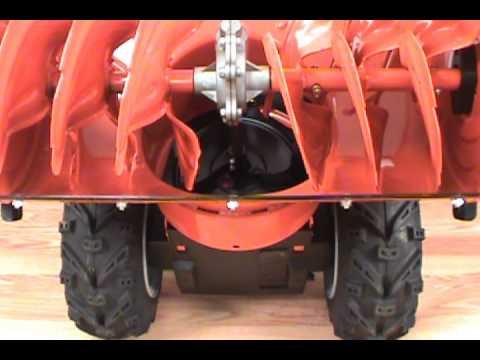 Replacing the Scraper Blade - Husqvarna Two-Stage Snow Blower