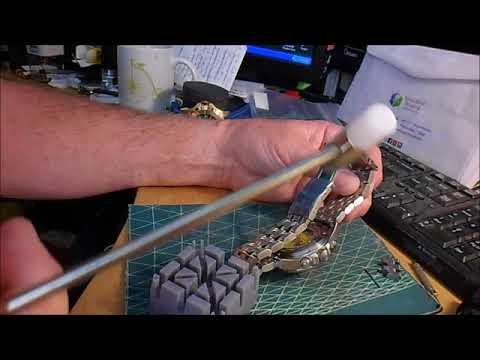 DIY Resizing Invicta Bracelet Watches