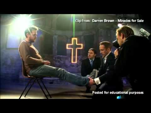 Derren Brown Exposing the Fake Faith Healing Leg Trick