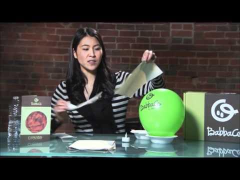 How To Make a Paper Mache Moon Nightlight