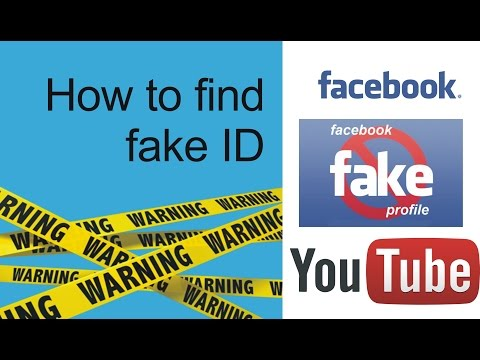 how to find fake facebook accounts of yourself