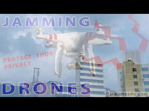 Drone Jammer in action model CT-4035 UAV by Jammers4U