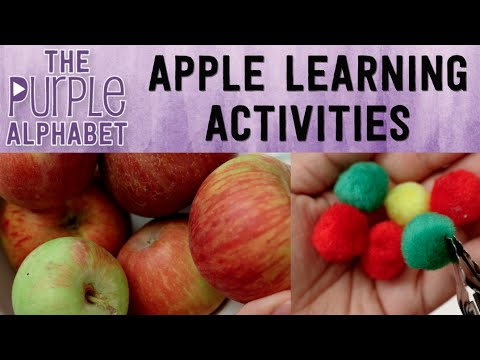 APPLE Activities for Kids - CHEAP & EASY