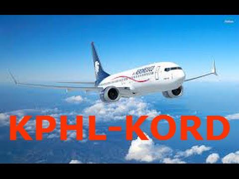 FSX - 737-800 KPHL-KORD