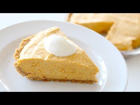 EASY! No-Bake Pumpkin Pie | RECIPE