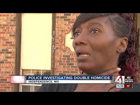 Independence police return to scene of double homicide