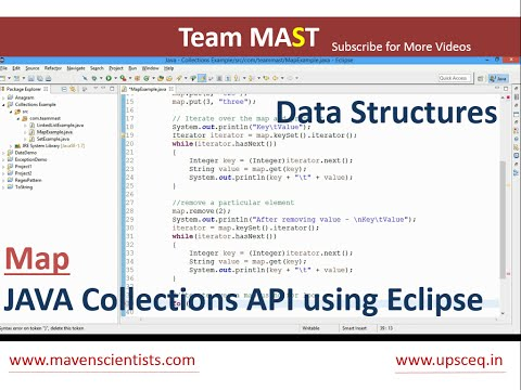 Map Example in Java | Team MAST