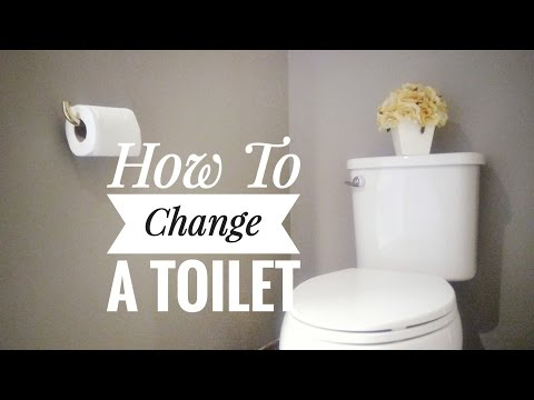 How to Install a Toilet - OurHouse DIY
