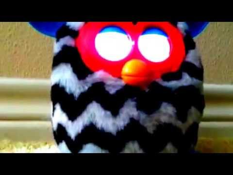 Furby Boom go to sleep