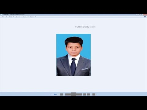 How to Make Pasport or ID Card size Photo in Photoshop
