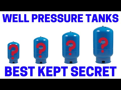 How To Select A Pressure Tank For Your Well