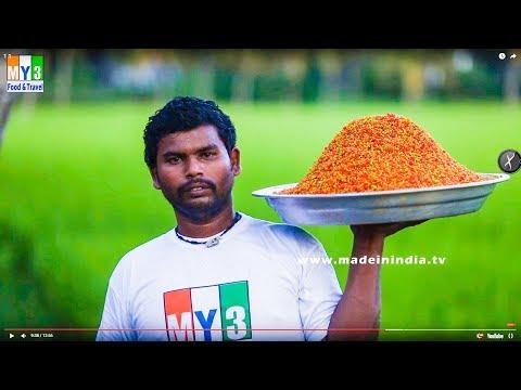 Karapusa Preparation - How to Make Karapusa | Besan Sev | Andhra Snack Recipes | Sanna Karapoosa