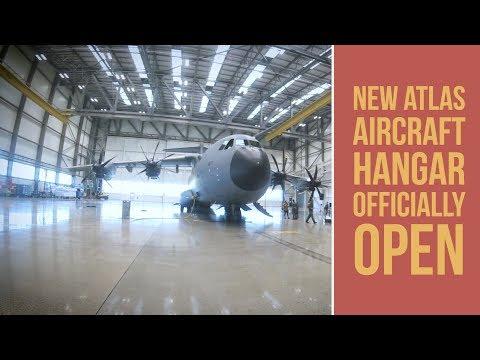 New Atlas Aircraft hangar officially open at RAF Brize Norton