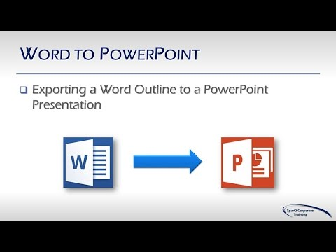 Office Integration - Part 4a - Word to PowerPoint