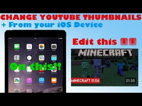 How to change your YouTube Videos Thumbnail/Cover Image from your iOS Device [WORKING 2016]