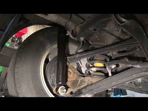 2001-2012 Ford Escape: Rear Shock Replacement Procedure
