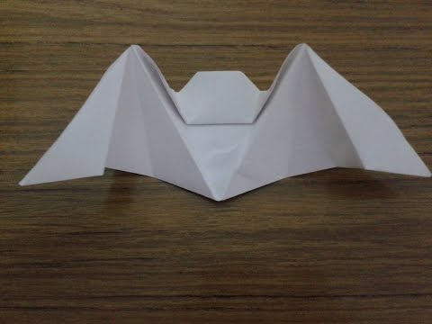 HOW TO MAKE (Batman) of paper/