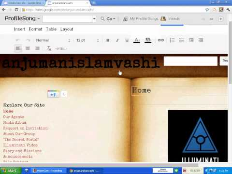 Google Sites Tutorial(how to create free website)