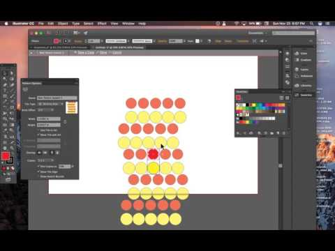 How To Make A Polka Dot Patten