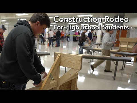 Construction Rodeo For High School Students