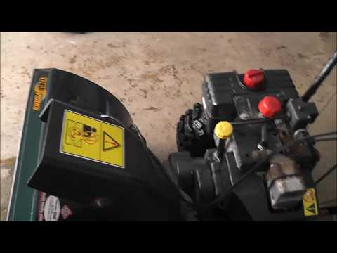 Replacing the Auger belts on a Yardworks 10 HP snowblower