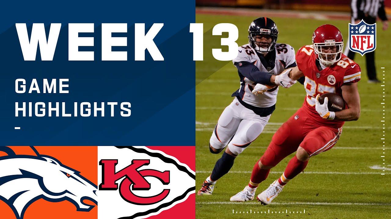 Broncos vs. Chiefs Week 13 Highlights | NFL 2020