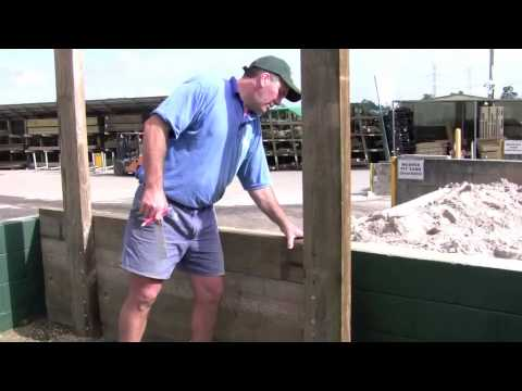 Timber Sleeper Walls - Construction