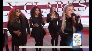 """Kelly Clarkson - """"I Don't Think About You"""" LIVE on the Today Show 2018!"""