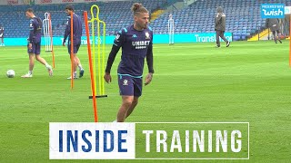 Inside Training: Back at Elland Road (in the pouring rain!)