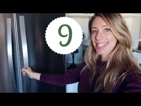 WHAT'S IN MY VEGAN FRIDGE (Realistic) | 12 Days of Vlogmas Day 9