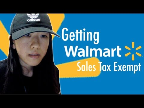 eBay Dropshipping: How to Get Sales Tax Exemption from Walmart