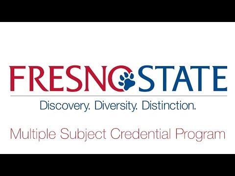 Multiple Subject Credential Program, Professionals