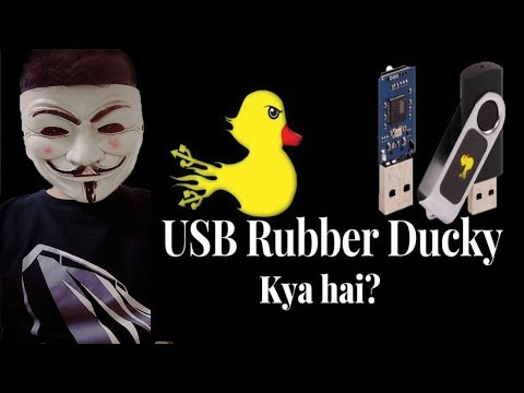USB Rubber Ducky Explained - Mr. Robot Hack | Rubber Ducky Kya Hota Hai ? |HID Introduction