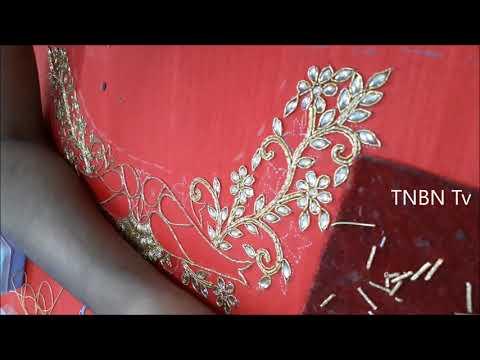 new back neck designs for blouse | aari work blouse designs with price | maggam work blouse designs