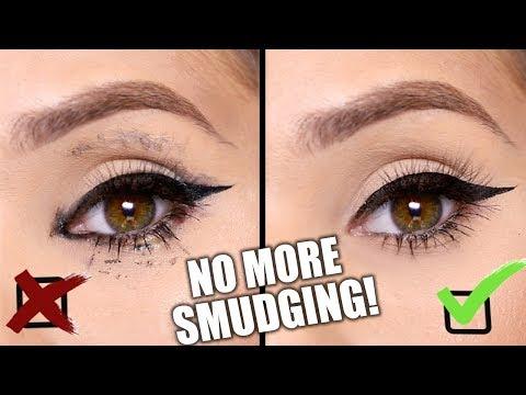 STOP Eyeliner & Mascara SMUDGING | 8 SIMPLE TRICKS / BEAUTY HACKS