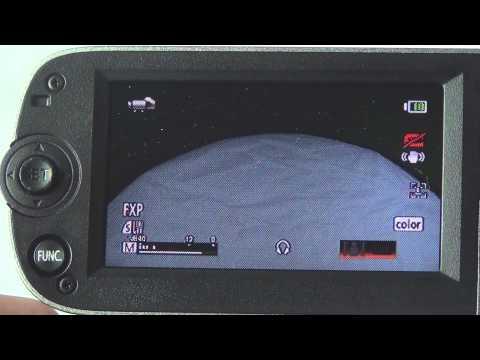 White Balancing with Canon Vixia Camcorder