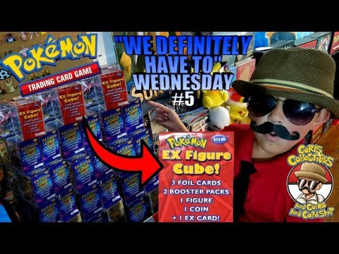 FIRST YOUTUBE OPENING EVER! NEWEST MYSTERY POKEMON CARDS EX FIGURE CUBE IS HERE!! WDHTW #5