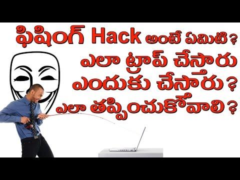 Phishing Scams Explained || in telugu || Tech-Logic