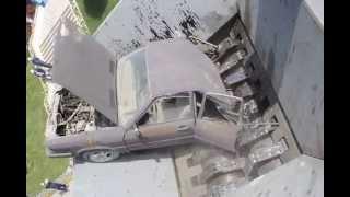 CVS Recycling Process, Scrap Shredder Tests, Car Shredding