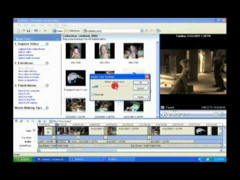 Working with Audio in Windows Movie Maker