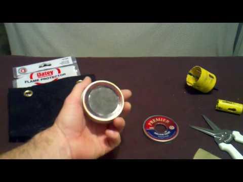 DIY Pellet Tin Alcohol Stove Non Pressurized