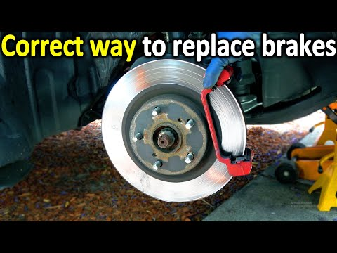 How to Tell if BRAKES are Worn Out in your car and How to Replace Them Yourself The Right Way